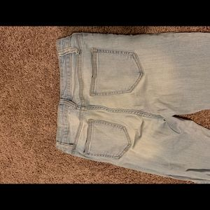 Cello Jeans - Light wash distressed jeans